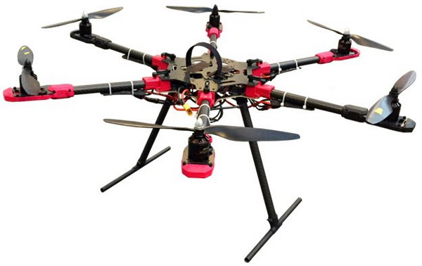 Hexacopter Solution from Nuvoton Technology